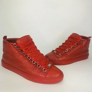 Balenciaga Arena Red Hightop